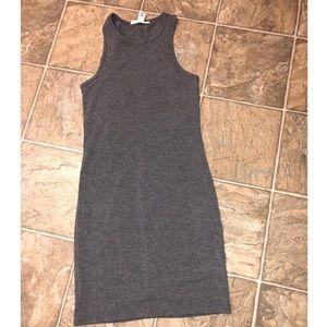 Forever 21 Racerback Gray Dress